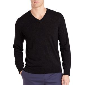APT. 9 Wool Blend Merino V-Neck Sweater
